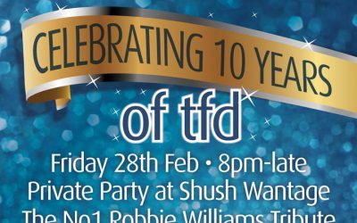 Celebrating 10 years of tfd
