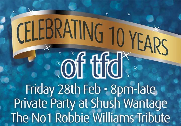 Celebrating 10 years of tfd