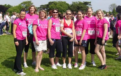 First Race for Life 2007 – cancer research