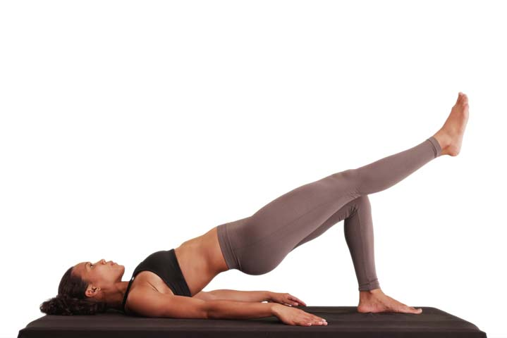 glute bridge single leg