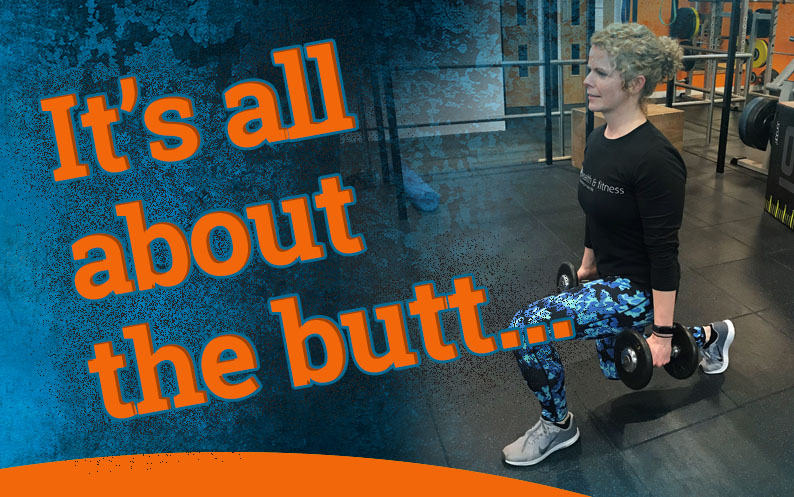 It's all about the BUTT…