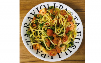 Chilli Shrimp Linguine