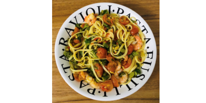 Chilli Shrimp Linguine