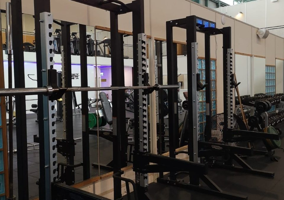 New Equipment: Squat Racks