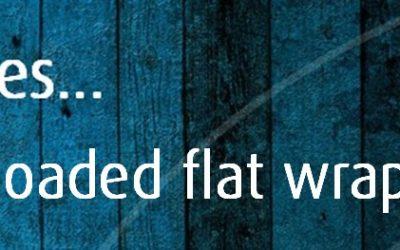 Loaded flat wrap